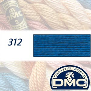 312 DMC Pearl Cotton 3