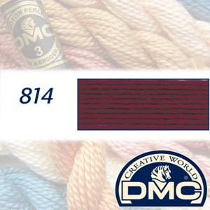 814 DMC Pearl Cotton 3