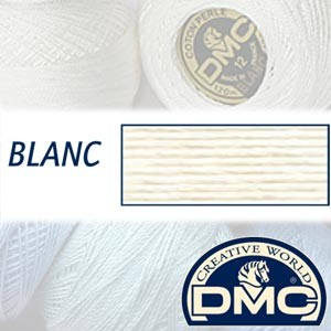BLANC DMC Pearl Cotton 12 Balls