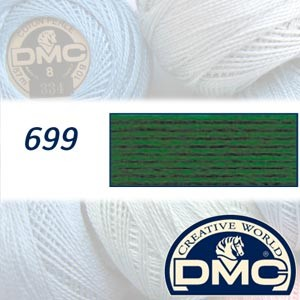 699 - DMC Pearl Cotton 8 Balls