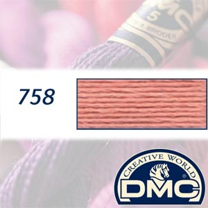 758 DMC Pearl Cotton 5