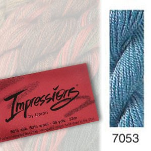 7053 Caron Impressions - (solid color)