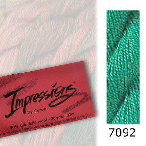 7092 Caron Impressions - (solid color)