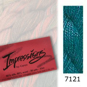 7121 Caron Impressions - (solid color)