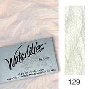 129 Caron Waterlilies - Hint of Mint